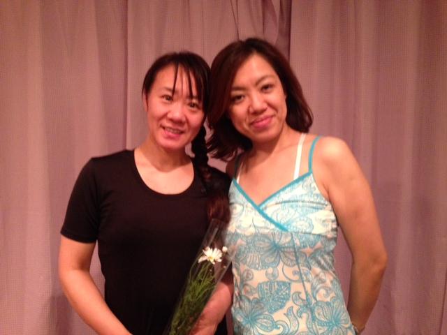 ピラティスインストラクター説明会で、辻川容子先生の指導がとても分かりやすくかったので受講を決意!