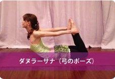ダヌラーサナ(弓のポーズ)| 人気ヨガインストラクターnaomi先生のヨガポーズ集