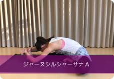 ジャーヌシルシャーサナA| 足裏、太もも裏側、背骨周りの柔軟性&強化におススメ!