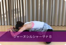 ジャーヌシルシャーサナB| 股関節を伸ばし柔軟性を高めたい方におススメ!