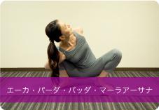 エーカ・パーダ・バッダ・マーラアーサナ | 骨盤周りの血流を良くし、便秘、冷え、生理不順等に効果的