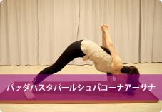 バッダハスタパールシュバコーナアーサナ | 肩周りの筋肉が刺激され肩コリ予防!