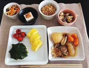 和食定食(タンパク質中心)