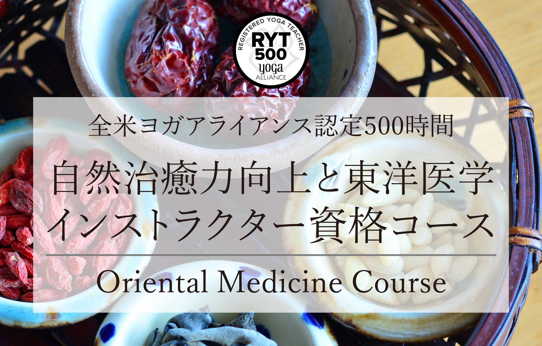 自然治癒力向上と東洋医学資格コース