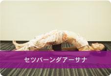 【セツバーンダアーサナ】ブロックヴァリエーション | 鼠蹊部を伸ばし、仙腸関節周りの硬さを取り腰痛予防!