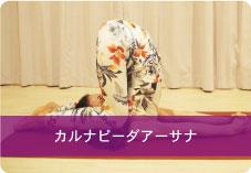 【カルナピーダアーサナ】| 背中の筋肉の張り・こわばりを解消!